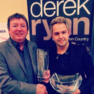 DEREK IS 'DELIGHTED' WITH A DOUBLE WIN!