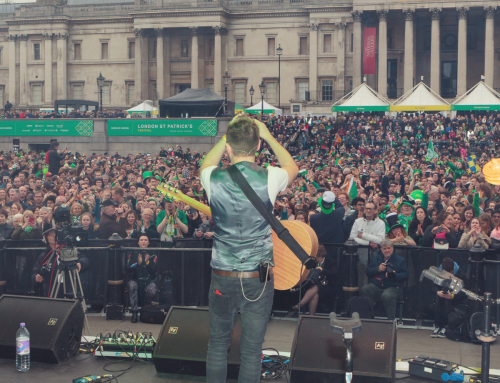 Derek Ryan Rocks Trafalgar Square