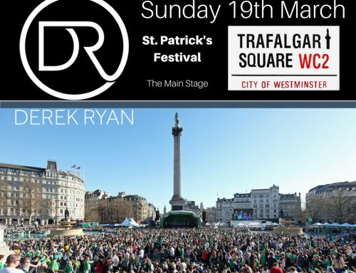 Derek Ryan returns to London for St. Patrick's Day Celebrations!