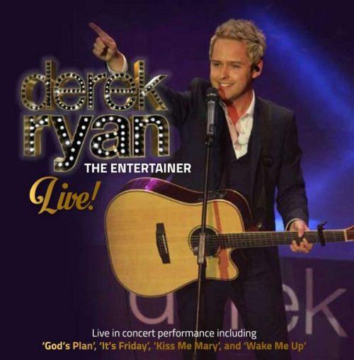 entertainer cd live Derek Ryan