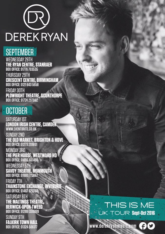 Derek Ryan - UK 2016