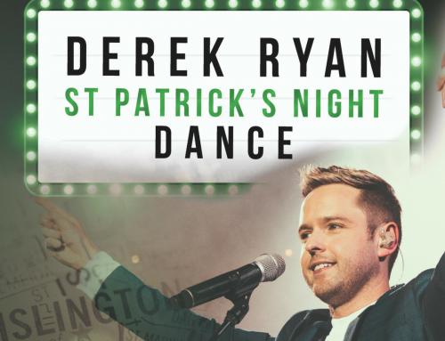 Derek Ryan to Return to Islington for St Patrick's Night Dance!