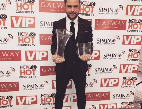 Derek Ryan is a success at Hot Country TV Awards