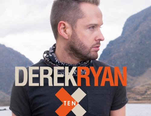 Derek Ryan's Tenth album TEN on release