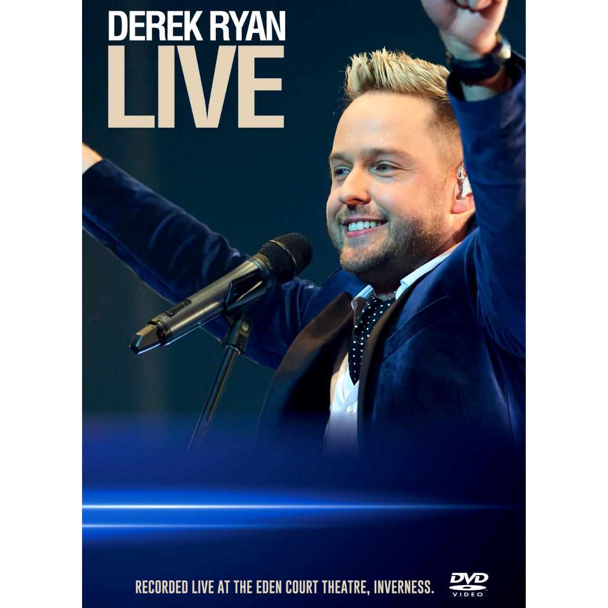 Derek Ryan LIVE Concert DVD