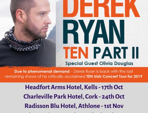 Derek Ryan returns with TEN Concert Tour (Part II)