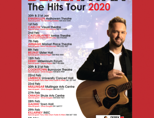 Derek brings 'Hits Tour' 2020 with 16 dates across Ireland