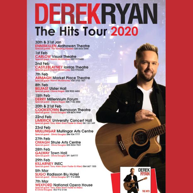 Derek Ryan Hits Tour 2020
