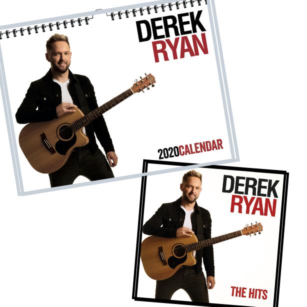 Derek Ryan 2020 CD and Calendar Bundle