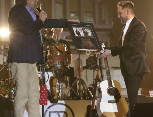 A night to remember for Derek at the Ulster Hall, Belfast