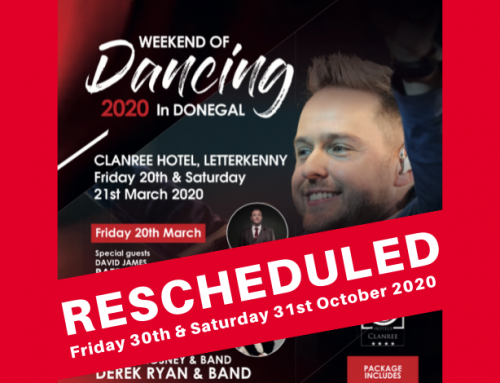 Rescheduled Clanree Hotel, Letterkenny dancing weekend