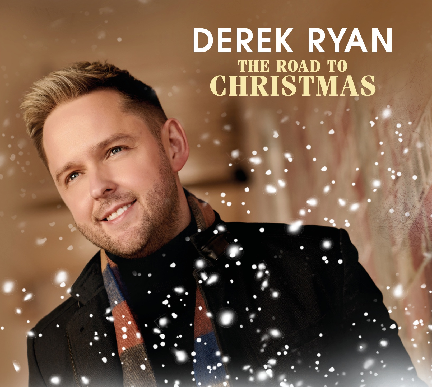 The Road To Christmas CD - Derek Ryan brand new album