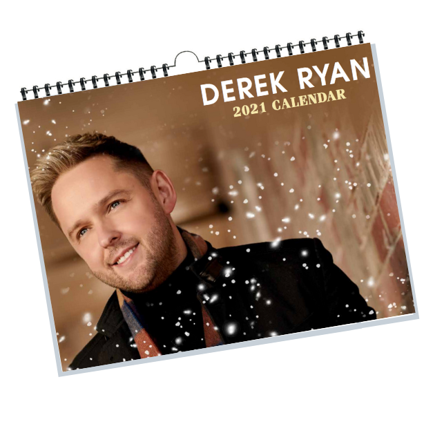 Derek Ryan 2021 Calendar