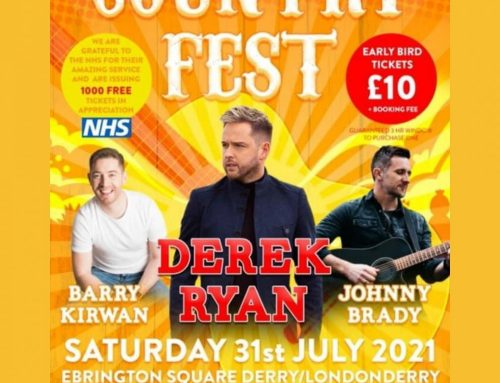 Derek headlines this year's Country Fest