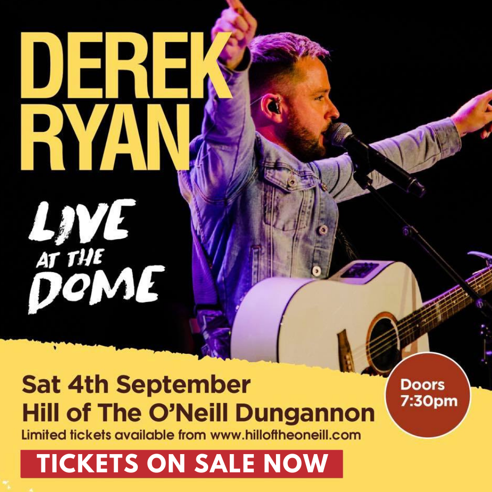 Derek's debut at the Dome on Hill of O'Neill in Dungannon