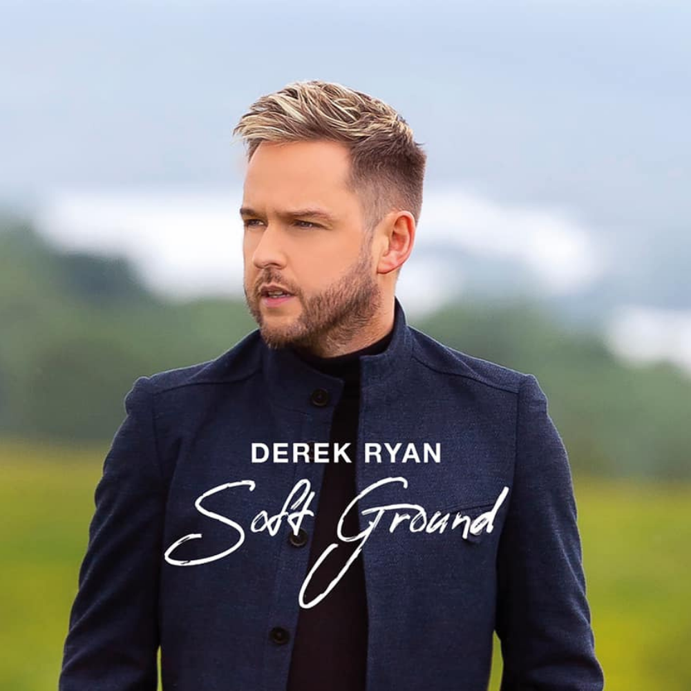 Derek Ryan's new album 'Soft Ground' available to PRE-ORDER now